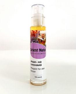 Arganöl mit Lavendelöl Pflegeöl für Haut und Körper - 50ml Naturkosmetik
